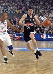 Predrag Danilovic (KINDER PALL. BOLOGNA) at the 1999 EuroLeague Final Four in Munich