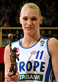 2005 FIBA Europe Player of the Year Maria Stepanova