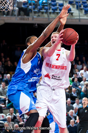 7. Benjamin Simons (Antwerp Giants)