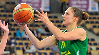13. Sandra Linkeviciene (Lithuania)