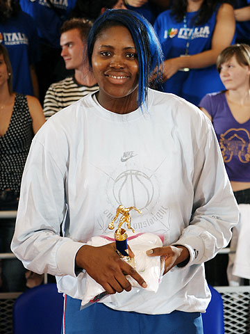MVP of the tournament - Isabelle Yacoubou (France)