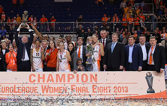 Closing Ceremony, 2013 EuroLeague Women Final 8