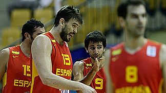 9. Ricky Rubio (Spain), 13. Marc Gasol (Spain)