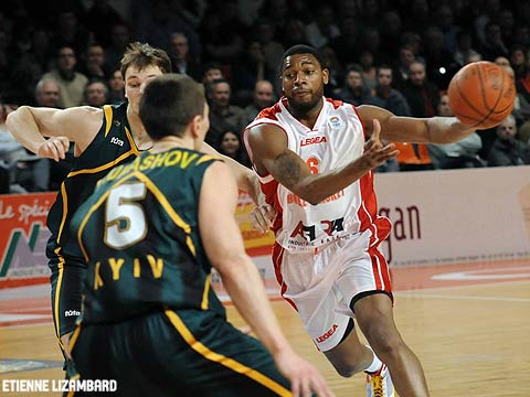 Vincent Grier (Cholet Basket)