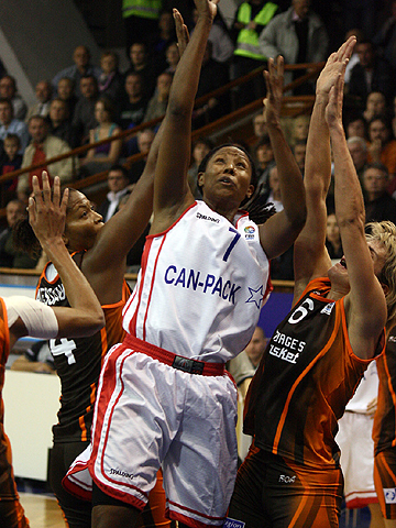 Chamique Holdsclaw (Wisla Can-Pack)