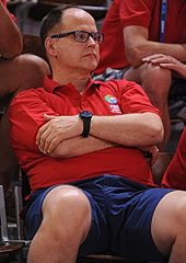 FIBA Head of Refereeing Carl Jungebrand