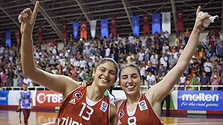 8. Ayse Cora (Turkey), 13. Melike Yalcinkaya (Turkey)