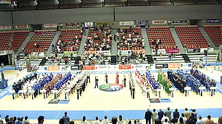 Opening Ceremony of the European Championship for U18 Men in Zaragoza, Spain