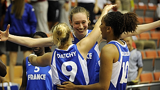 9. Laurie Datchy (France), 10. Margaux Okou Zouzouo (France)