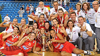Spain defend their title at the U20 European Championship Women