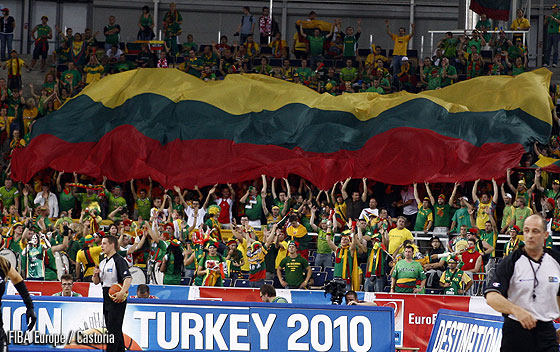 Lithuania Fans