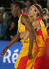 13. Amaya Valdemoro (Spain), 14. Sancho Lyttle (Spain)