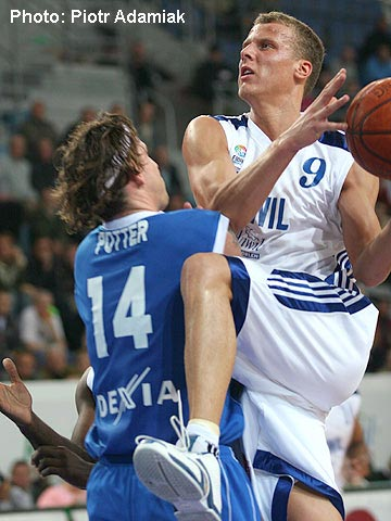 Gatis Jahovics (Anwil) and James Potter (Dexia)