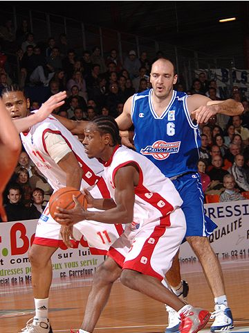 Jimmal Ball (Cholet Basket)