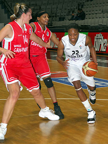 22. Alexis Kayree Hornbuckle (Besiktas Cola Turka)