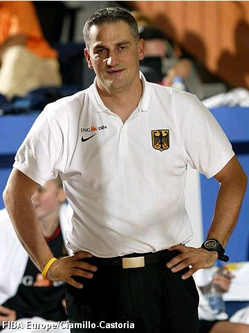 Germany Head Coach Olaf Stolz