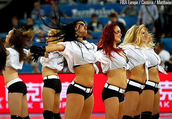 Leaderdance from Klaipeda, Lithuania performing at EuroBasket