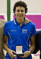 Artemis Spanou is named MVP of the 2012 U20 European Championship Women Division B
