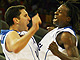 Meir Tapiro (Israel) and Jeron Roberts (Israel) celebrating