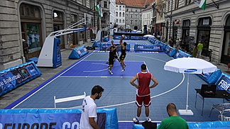 1st FIBA Europe 3on3 - Ljubljana