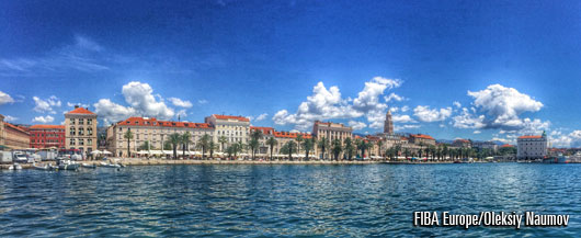 Beautiful Adriatic town of Split hosted the inaugural 2014 3x3 EuroTour event