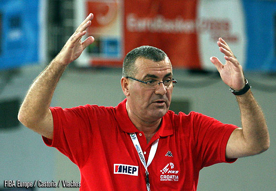 Croatia Head Coach Jasmin Repeša