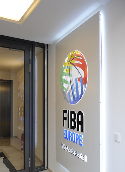 FIBA Europe Headquarters Entry-Ismaninger Str. 21