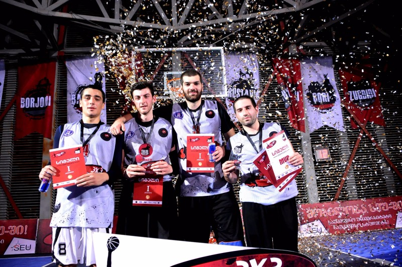 Winners of the First Round of the Georgian National 3x3 Championship