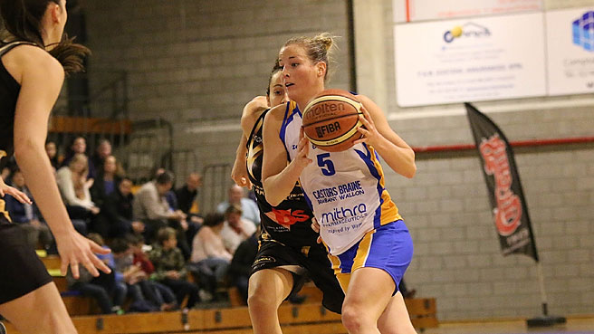 Castors Braine Coast Into Last Eight