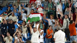 Hungarian supporters