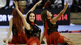 Leaderdance from Klaipeda, Lithuania performing at EuroBasket Women