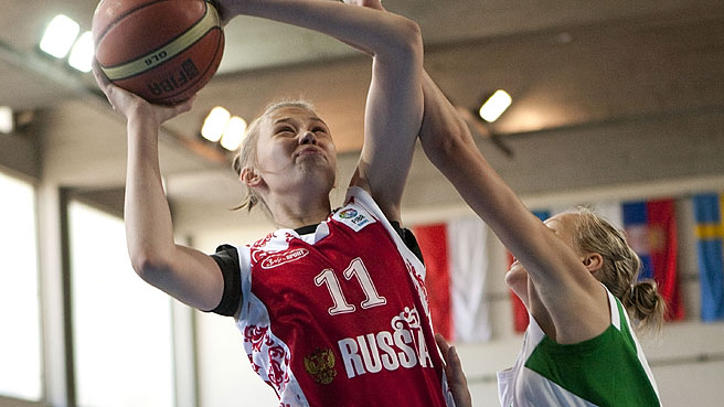 Russia Make Easy Work Of Lithuania
