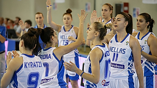 Greece, prior to their game against Sweden