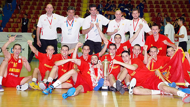 Montenegro Edge Out Poland To Win Gold