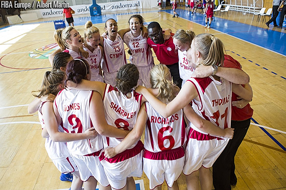 Wales win the bronze medal at the U18 European Championship Women Division C