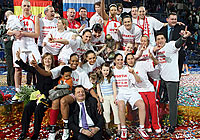 Winner of the EuroLeague Women 2007: Spartak Moscow Region