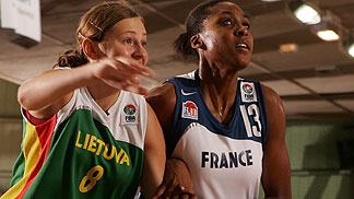 Sandrine Béatrice Gruda (France) and Julita Bungaite (Lithuania)