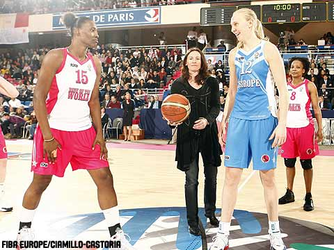Ann Wauters (Europe), Sylvia Fowles (Rest of the World)