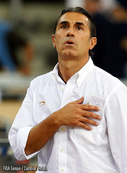 Spain Head Coach Sergio Scariolo