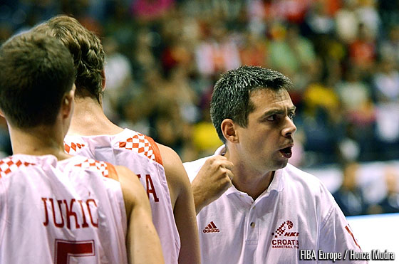 Croatia Head Coach Ante Nazor