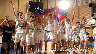 European Champion U20 Men 2004: Slovenia