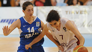7. Michelle Brandao (Portugal), 14. Mayan Levy (Israel)