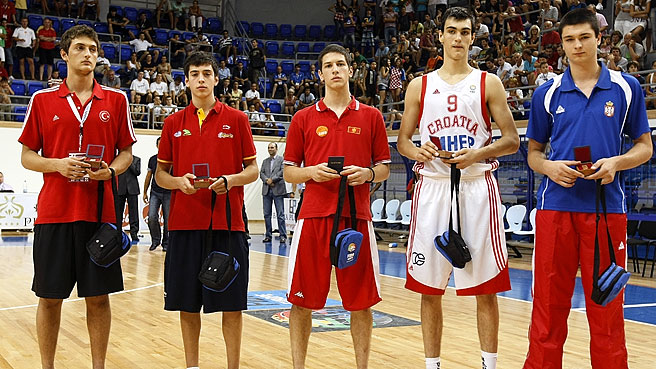 Saric Heads All Tournament Team