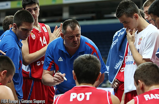 Serbia Head Coach Dejan Mijatovic
