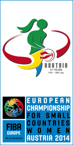 European Championship For Small Countries Women 2014