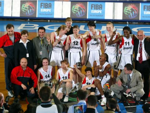 2003 EuroLeague Women Champions UMMC Ekaterinburg
