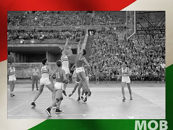 Hungary won their only EuroBasket title in 1955