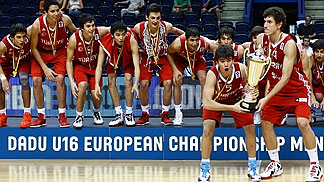 U16 European Champions Turkey