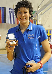 MVP Artemis Spanou (Greece)
