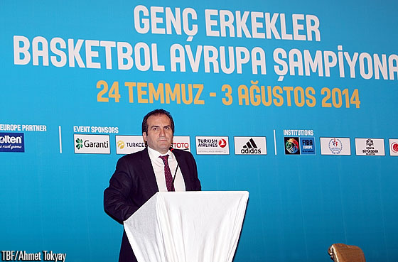 Hayrullah Ozan Cetiner, Head of the International Events Department at the General Directorate of Sports